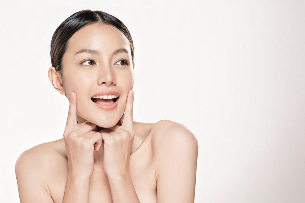 фото девушки после установки жидких мезонитей
