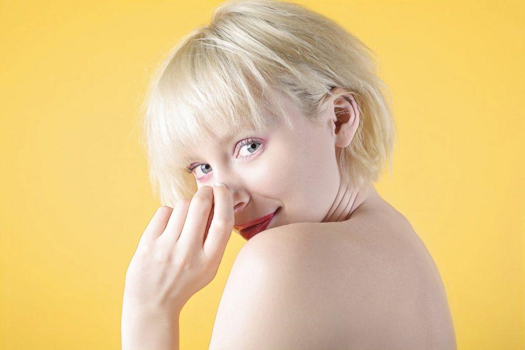 фото девушки после редермализации кожи лица