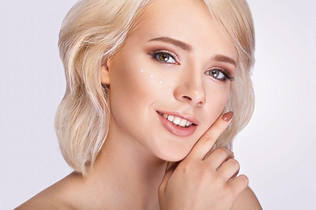 фото девушки после биореструктуризации кожи